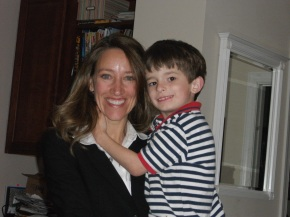 Ian and Mommy